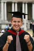 Graduation student - I did it! — Stock Photo