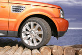 Orange 4 x 4 — Stock Photo