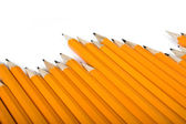 Pencil race — Stock Photo