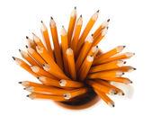Pencils inside mug — Stock Photo