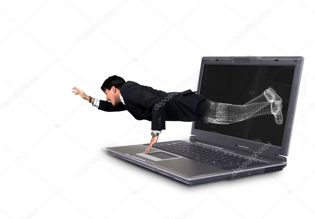 Break free from technology 1 — Stock Photo #7633908