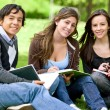 Foto Stock: College or university students