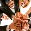 Business hands of teamwork — Stock Photo #7642637