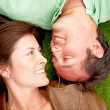 Happy couple outdoors — Stock Photo #7642651