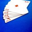 Stock Photo: Cards - royal flush