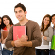 Group of students — Stock Photo #7642683