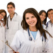 Group of doctors — Stock Photo #7642691