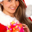 Royalty-Free Stock Photo: Christmas gift from santa