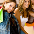 Stock Photo: Women shopping