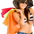 Fashion woman with shopping bags — Stock Photo #7642800