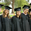 Stock Photo: Graduation group