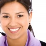 Business woman - helpdesk — Stock Photo #7642833