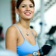 Royalty-Free Stock Photo: Woman at the gym