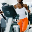 Woman at the gym — Stock Photo #7642867