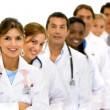Group of doctors — Foto Stock #7642877