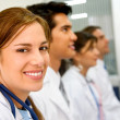 Doctors in a hospital — Stock Photo #7642891