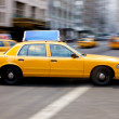 New york city taxi - Stock Photo
