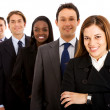 Business team isolated — Stock Photo