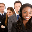 Business helpdesk operators - Stock Photo