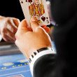 Blackjack cards - Stock Photo