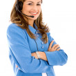 Business customer support operator — Stock Photo #7642999