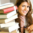 Student in a library — Stock Photo #7643015