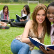 Female students — Foto Stock