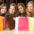 Shopping girls — Stock Photo #7643042