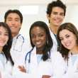Stock Photo: Diverse doctors