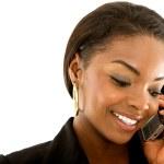 Empresaria en el teléfono — Foto de Stock   #7643110