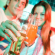 Couple in a bar — Stock Photo #7643122