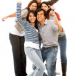 Happy group of friends — Stock Photo #7643190