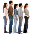 Group of in queue — Stock Photo #7643191