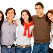 Stock Photo: Group of young adults