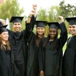 Graduation group — Stock Photo #7643234
