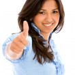 Thumbs up — Stock Photo #7643270