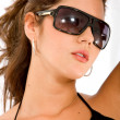 Fashion woman with sunglasses — Stock Photo