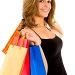 Shopping woman — Stock Photo #7643343