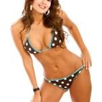 Bikini woman smiling — Stock Photo #7643363