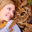 Autumn woman — Stock Photo #7643382