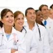 Doctors and nurses — Stock Photo #7643397