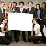 Business team - board — Stock Photo