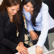 Business office women — Stock Photo