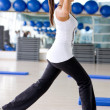 Gym aerobics — Stock Photo