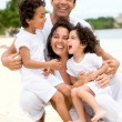 Happy family - Foto Stock