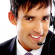 Customer services man — Stock Photo