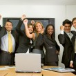 Business success team — Stock Photo #7643709