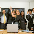 Business success team — Stock Photo