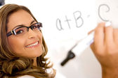 Education teacher or student — Stock Photo