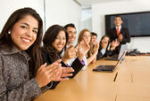 Business success team — Stock Photo